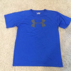Under Armour boys youth heat gear